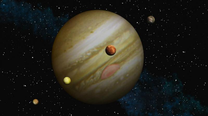 Observatório Nacional disponibiliza software que gera predições de fenômenos em Júpiter e suas luas
