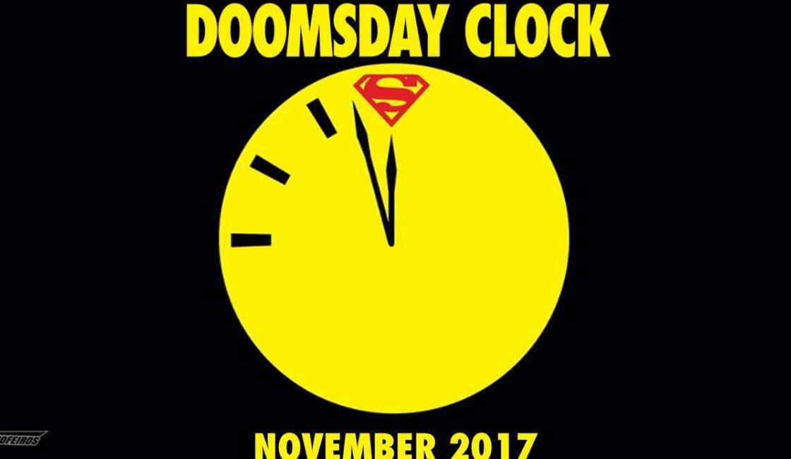 DOOMSDAY | Confira imagens e revelações da HQ que coloca Superman contra Dr. Manhattan, divulgadas na San Diego Comic-Con.