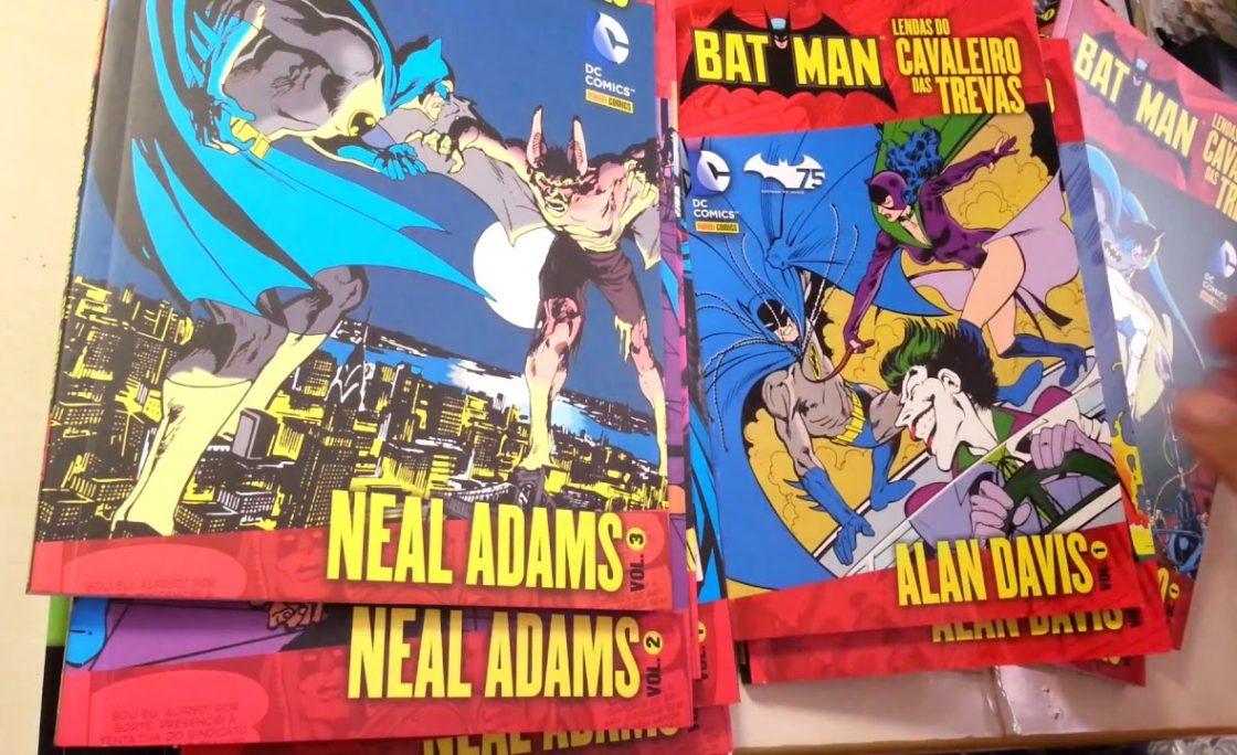 Panini lança novos volumes dos clássicos da DC Comics