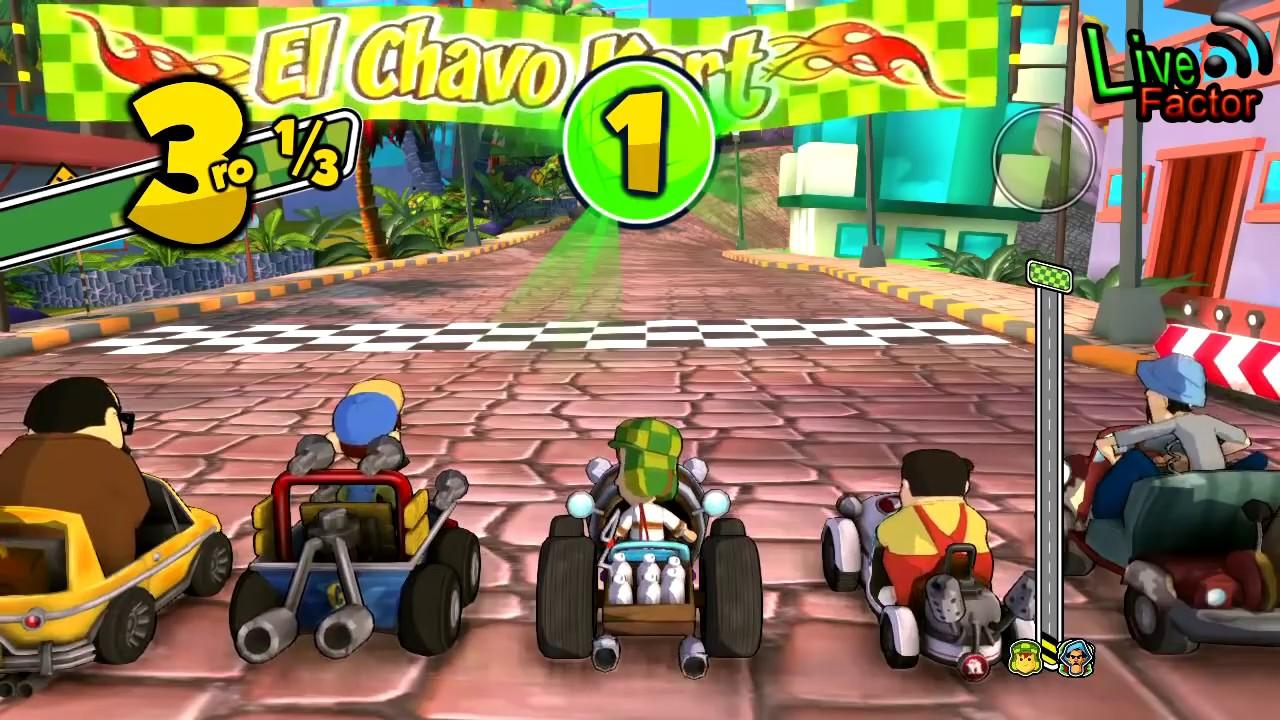 Novo game mobile Chaves Kart já pode ser baixado grátis para smartphones e  tablets | Acesso GEEK